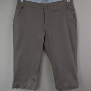 Riders By Lee Size 12 Medium Four Pocket Shorts